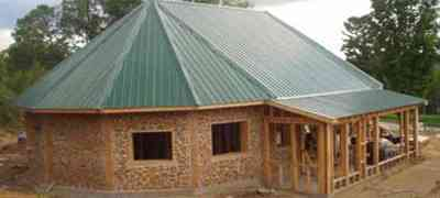 Cordwood Houses