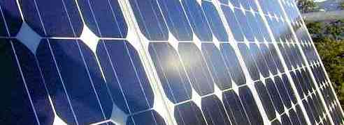 going green solar panels