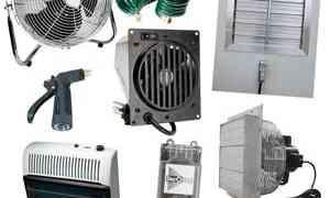 Prepare Equipment For Green-house Living